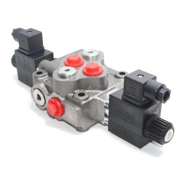 Distributeur monobloc spécifique équipé commande électrique 12 Volts