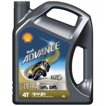 Huile moteur 4 temps Advance ultra 15W50 pour motos