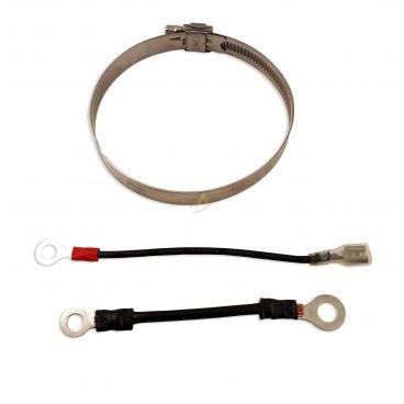 Collier de fixation pour relais de démarrage diamétre 80 mm