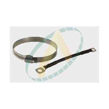 Collier de fixation pour relais de démarrage diamètre 112 et 114 mm