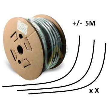 Flexible 2 tresses standard diamètre intérieur 16 mm (5/8'') - 250 bars, bobine 20 m de chutes