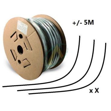Flexible 2 tresses standard diamètre intérieur 19 mm (3/4'') - 215 bars, bobine 20 m de chutes