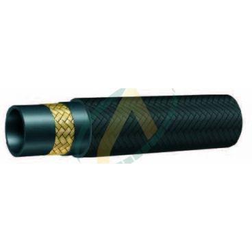 Flexible hydraulique 1 tresse R5 diamètre intérieur 13 mm (1/2'') - 121 bars