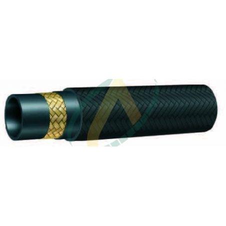 """Flexible hydraulique 1 tresse R5 diamètre intérieur 29 mm (1"""" 1/8) - 43 bars"""