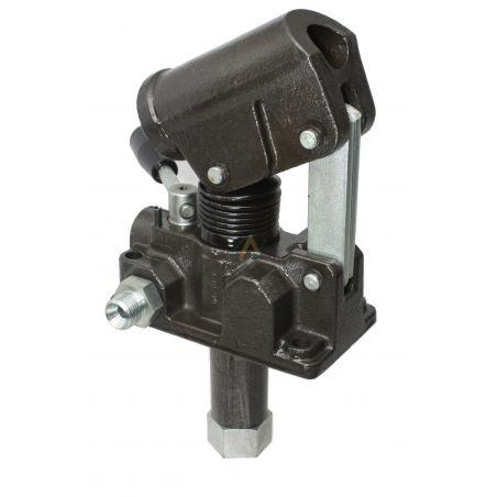 Pompe hydraulique manuelle double effet 12 cm3, 320 bars