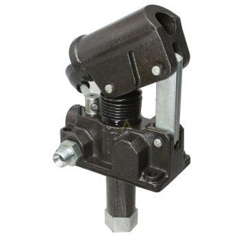 Pompe hydraulique manuelle double effet 25 cm3, 150 bars
