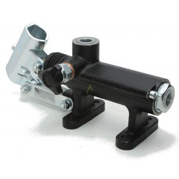 Pompe hydraulique manuelle en ligne simple effet 50 cm3, 280 bars