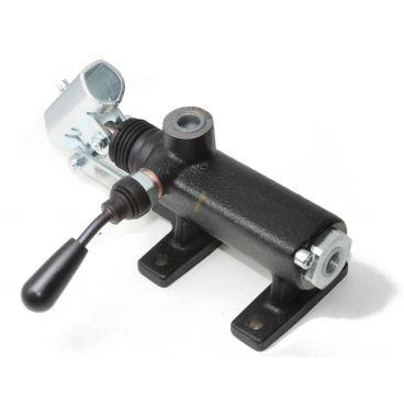 Pompe hydraulique manuelle en ligne simple effet 70 cm3, 230 bars