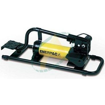 Pompe hydraulique à pied simple effet 11,26 cm3/15 bars 2,47 cm3/350 bars