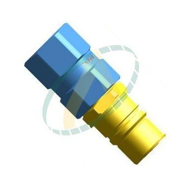Coupleur mâle Multifaster module 1/4 - femelle 1/4G