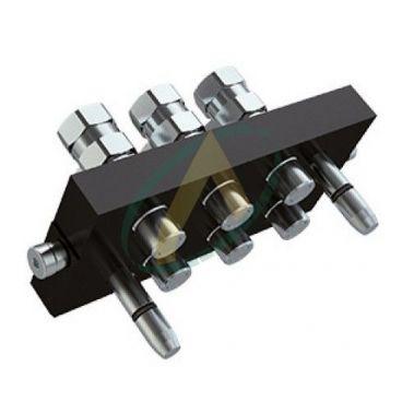 Multifaster mâle 6 coupleurs 50 l/min 250 bars 2P606