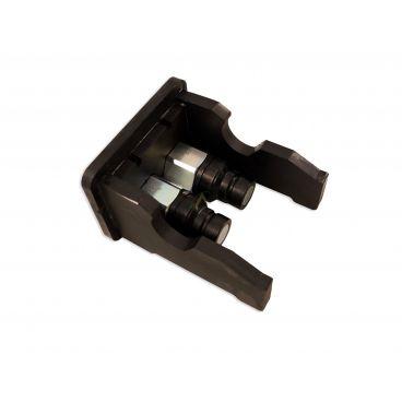 Multicoupleur Mach male 2 coupleurs 110 l/min 350 bars