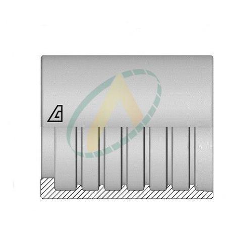 """Jupes 6 mm ( 1/4"""" ) pour flexibles P1T, R7, R8, Sans dénudage simple accroche"""