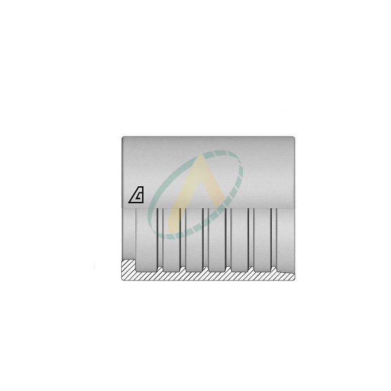 """Jupes 10 mm ( 3/8"""" ) pour flexibles alfajet 210, P1T, R7, PLT, 1SC, R8, Supertuff 1SC compact, Sans dénudage simple accroche"""
