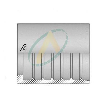 """Jupes 13 mm ( 1/2"""" ) pour flexibles alfajet 210, P1T, R7, PLT, 1SC, R8, Supertuff 1SC compact, Sans dénudage simple accroche"""