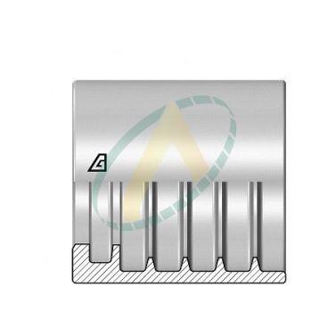 """Jupes 13 mm ( 1/2"""" ) pour flexibles 2SN/ R2AT, Sans dénudage simple accroche"""