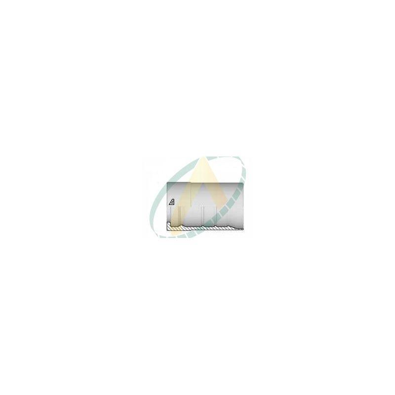 """Jupes 32 mm ( 1"""" 1/4 ) pour flexibles R15, alfabiotech 6000, Avec double dénudage embout interlock"""