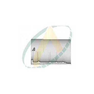 """Jupes 25 mm ( 1"""" ) pour flexibles R15, Avec double dénudage embout interlock"""