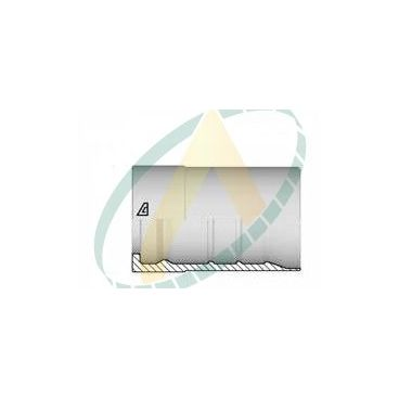 """Jupes 51 mm ( 2"""" ) pour flexibles alfabiotech 5000, Avec double dénudage embout interlock"""