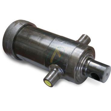 Vérin hydraulique télescopique 2 éléments tige : 61/76 fixation haute