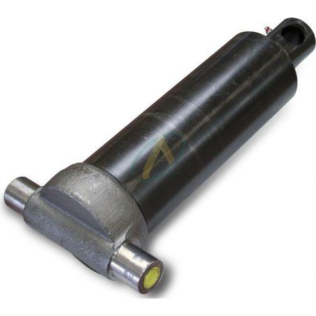 Vérin hydraulique télescopique 5 éléments tige : 61/76/91/107/126 fixation basse