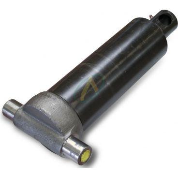 Vérin hydraulique télescopique 4 éléments tige : 46/61/76/91 fixation basse