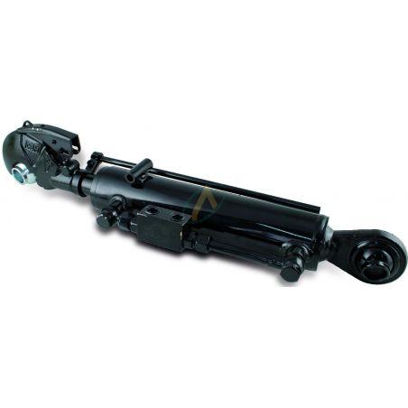 Troisième point hydraulique rotule et crochet 25.4 mm tige 35 mm entraxe fermé 484 mm