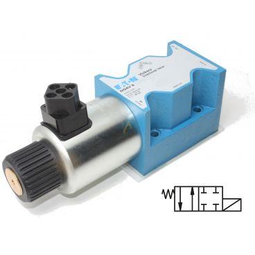 Distributeur Cetop 5 simple bobine A et B fermé à commande électrique