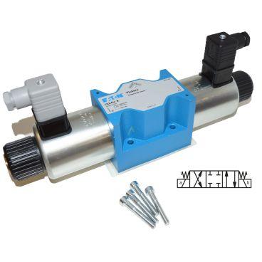 Distributeur Cetop 5 double bobine A et B fermé à commande électrique