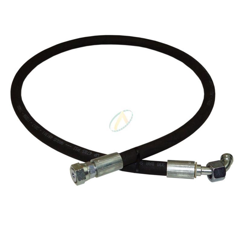 Flexible hydraulique écrou tournant 9/16 ORFS droit et coudé 90° 400 bars
