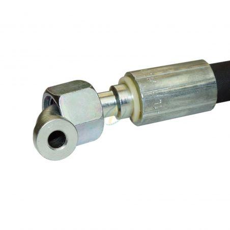 Flexible hydraulique écrou tournant 11/16 ORFS droit et coudé 90° 330 bars