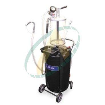 Récupérateur d'huile 90 litres avec système d'aspiration sous vide