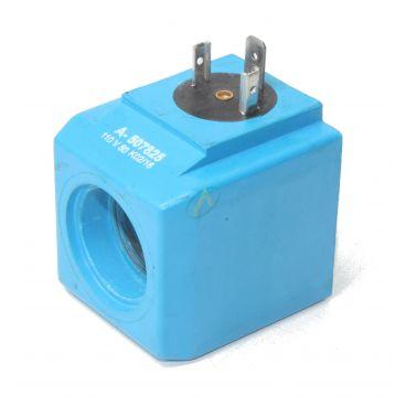 Bobine électrique Carrée 110V AC diamètre intérieur 23.5 mm longueur 50 mm
