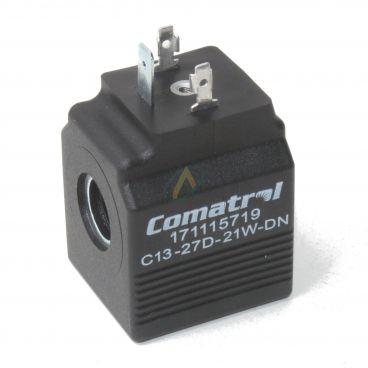 Bobine électrique Carrée 27V CC diamètre intérieur 13 mm longueur 39 mm puissance 21 Watts