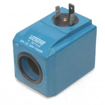 Bobine électrique Carrée 24V CC diamètre intérieur 23.5 mm longueur 60 mm puissance 30 Watts