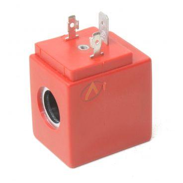 Bobine électrique Carrée 12V CC diamètre intérieur 13 mm longueur 39 mm