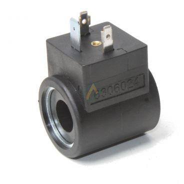 Bobine électrique Ronde 24V CC diamètre intérieur 13 mm longueur 37 mm puissance 15 Watts