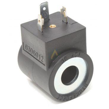 Bobine électrique Ronde 12V CC diamètre intérieur 13 mm longueur 37 mm