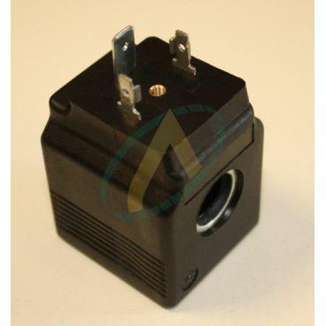 Bobine électrique Carrée 24V CC diamètre intérieur 13 mm longueur 38 mm puissance 22 Watts