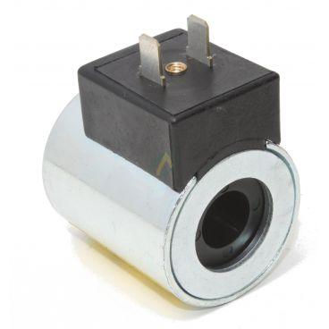 Bobine électrique Ronde 12V CC diamètre intérieur 12,9 mm longueur 47 mm puissance 23 Watts