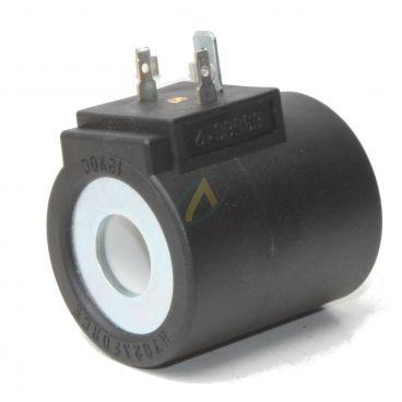 Bobine électrique Ronde 12V CC diamètre intérieur 16 mm longueur 50 mm puissance 20 Watts