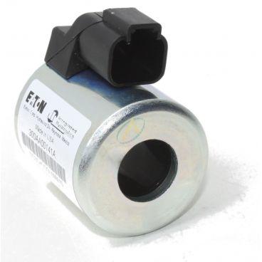 Bobine électrique Ronde 12V CC diamètre intérieur 17.6 mm longueur 47 mm puissance 29 Watts