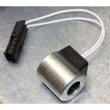 Bobine électrique Ronde 12V CC diamètre intérieur 18 mm longueur 40 mm