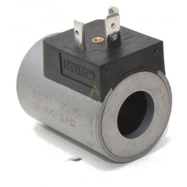 Bobine électrique Ronde 12V CC diamètre intérieur 18 mm longueur 50 mm