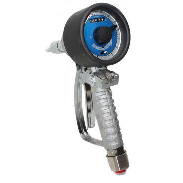 Pistolet de distribution d'huile préréglé avec volucompteur mécanique
