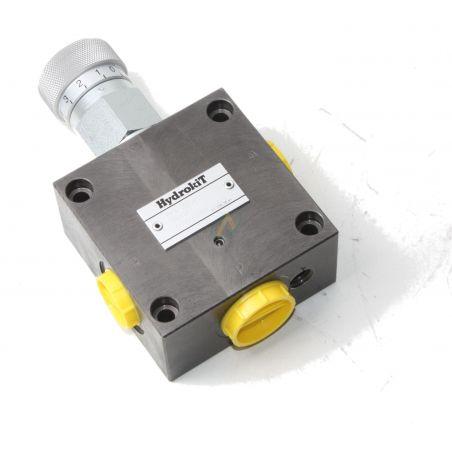 Diviseur de débit hydraulique réglable de 0 à 50 l/min, pression maximale 350 bars