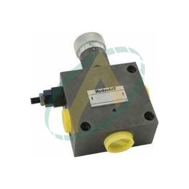 Régulateur de débit hydraulique 3 voies réglable de 0 à 25 l/min, pression maximale 250 bars