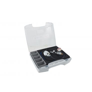 Pompe à vide pneumatique avec valise de rangement