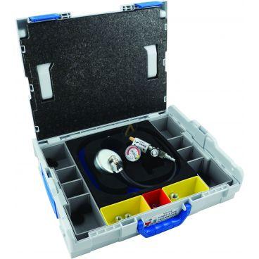 Pompe à vide pneumatique avec valise de rangement taille moyenne