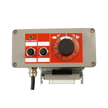 Boîtier de commande pour électro distributeur 2 à 7 fonctions avec régulation de débit